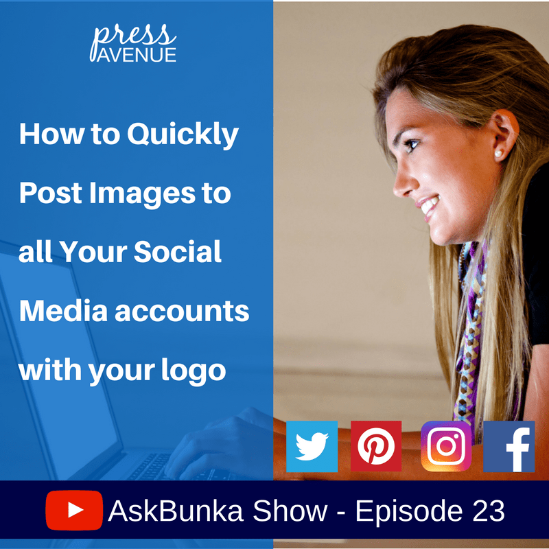 Quickly Post Images Social Media